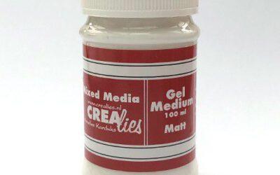 Gel Medium Mat Transparent 100 ml